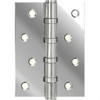 Петля дверная Adden Bau 4BB полированный хром