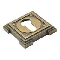 Накладка на ключевой цилиндр Adden Bau SC VQ001 состаренная бронза