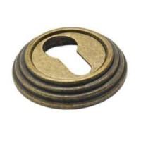 Накладка на ключевой цилиндр Adden Bau SC V001 состаренная бронза
