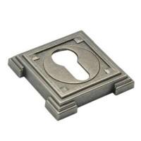 Накладка на ключевой цилиндр Adden Bau SC VQ001 состаренное серебро