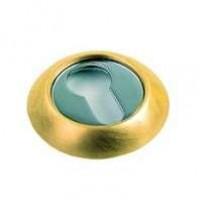 Накладка круглая под евроцилиндр Archie Sillur CL S Gold