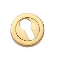 Накладка круглая под евроцилиндр Archie CL-20G CL S. GOLD матовое золото