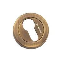 Накладка круглая под евроцилиндр Archie CL-20G ANT.COFFEE античный кофе