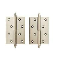 Дверные петли Archie A010-D 2H L белый никель
