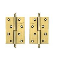 Дверные петли Archie A010-D 2U R матовая латунь