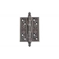 Дверные петли Archie Genesis A030-G 4262 Bl.Silver черненое серебро универсальные