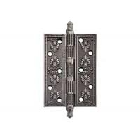 Дверные петли Archie Genesis A030-G 4272 Bl.Silver черненое серебро универсальные