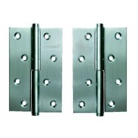 Дверные петли Archie A010-D 132 L матовый хром