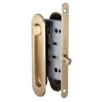 Набор для раздвижных дверей Armadillo / Армадилло SH011-BK SG-1 Матовое золото