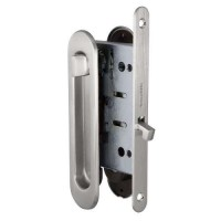 Набор для раздвижных дверей Armadillo / Армадилло SH011-BK SN-3 Матовый никель