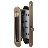 Набор для раздвижных дверей Armadillo / Армадилло SH011-BK WAB-11 Матовая бронза
