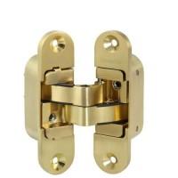 Петля скрытой установки с 3D-регулировкой Armadillo / Армадилло Architect 3D-ACH 40 SG Матовое золото