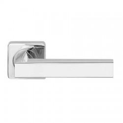 Межкомнатная дверная ручка раздельная Armadillo / Армадилло Corsica SQ003-21CP-8 хром