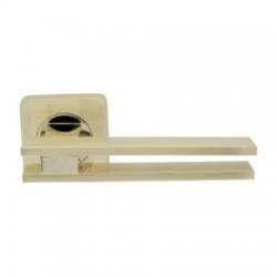 Межкомнатная дверная ручка раздельная Armadillo / Армадилло Bristol SQ006-21SG/GP-4 комбинация матового золота и золота