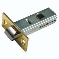 Защелка врезная межкомнатная Bussare L6-45 матовое золото