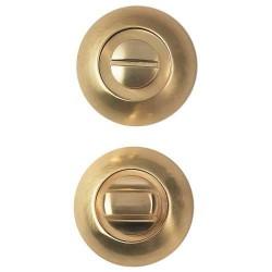 Завертка сантехническая Bussare WC-10 матовое золото