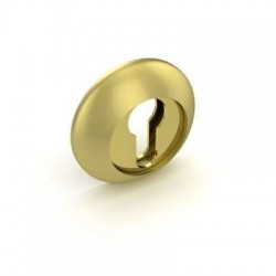 Накладка под цилиндр Fuaro ET RM SG/GP-4 комбинация матового золота и золота