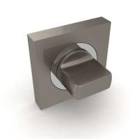 Завертка сантехническая Fuaro BK6 KM SN/CP-3 комбинация матового никеля и хрома
