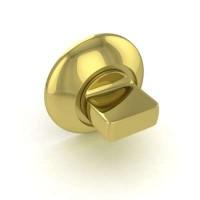 Завертка сантехническая Fuaro BK6 RM GP/SG-5 комбинация латуни и матового золота