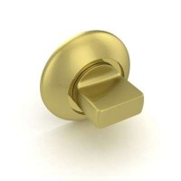 Завертка сантехническая Fuaro BK6 RM SG/GP-4 комбинация матового золота и латуни
