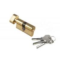 Цилиндровый механизм с поворотной ручкой Morelli 60CK PG Золото