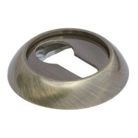 Накладка круглая под евроцилиндр Morelli MK-KH AB античная бронза
