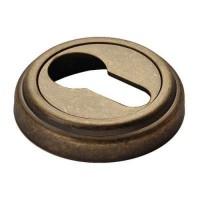 Накладка круглая под евроцилиндр Morelli MK-KH-CLASSIC OMB старая матовая бронза
