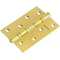 Стальные универсальные дверные петли Morelli MS-4BB PG Золото