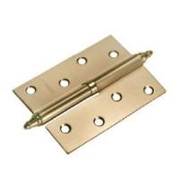 Стальные разъемные дверные петли с короной Morelli MS R AB Античная бронза правые