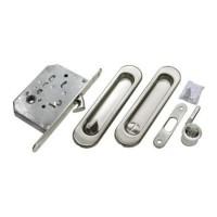 Набор для раздвижных дверей Morelli MHS150 WC SC матовый хром