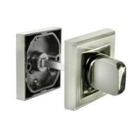 Завертка сантехническая Morelli MH-WC-S SN/BN комбинация белого и черного никеля
