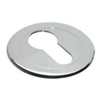 Накладка круглая под евроцилиндр Morelli Luxury LUX-KH CRO хром