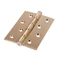 Универсальные дверные петли Palidore 4ВВ SВ матовое золото