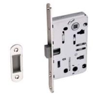 Магнитная дверная защелка под сантехническую завертку Palidore L 3090 PC хром