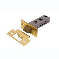 Дверная защелка с пластиковым язычком Palidore L 6-45 PB золото