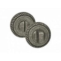 Завертка сантехническая Palidore OL4 AS античное серебро