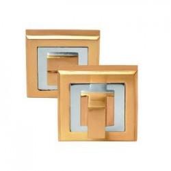 Завертка сантехническая Palidore OLS SB матовое золото