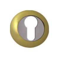 Накладка под целиндр Vantage / Вантаж ETC матовое золото