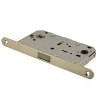 Дверная магнитная защелка сантехническая с ответной планкой Vantage / Вантаж MC96 SN матовый никель
